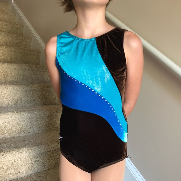 c5819f94abb1 GK Costumes | Elite Gymnastics Leotard Costume Child Lxl | Poshmark